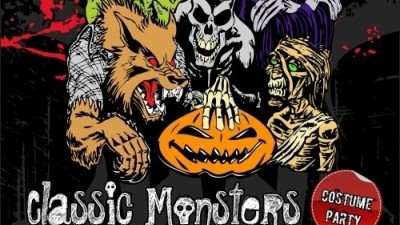 Fire Club - Classic Monsters Halloween Party