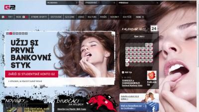 G2.cz (homepage)