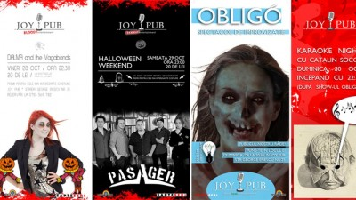 Joy Pub - Halloween Weekend