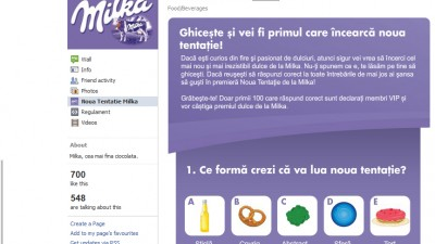 Milka - Noua tentatie (Facebook Quiz 1)