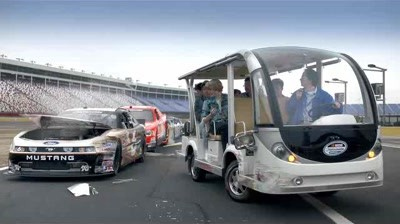 Nascar - Tram at the Track