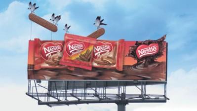 Nestle - Birds stealing chocolate