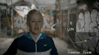 Nike - Music Runs Ellie