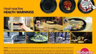 Pedigree - Heat-reactive Health Warnings