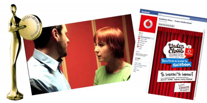 "[UPDATE] Gold la Golden Drum 2011: Next Advertising cu IQads - ""Gelozie"" la categoria Film si Propaganda cu UNDERCLOUD - ""Prima piesa de teatru jucata pe Facebook"" la Digital"