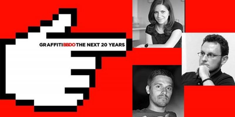 """The Next 20 Years"", organizat de Graffiti BBDO: Stefan Chiritescu, Cristian Pantazi, Oana Padure despre tendintele advertisingului din ultimii ani"
