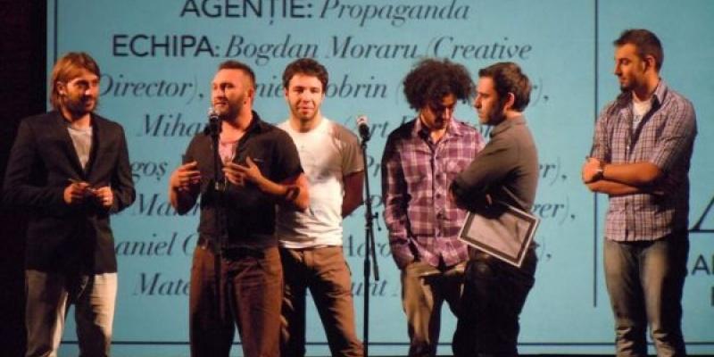 """[Update] Propaganda a castigat 15 premii in cadrul Galei """"10 ani de creativitate romaneasca"""""""