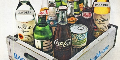 Printuri vintage cu bauturi alcoolice