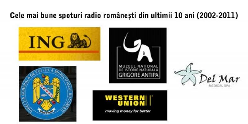 Cele mai bune spoturi radio romanesti din ultimii 10 ani (2002-2011)