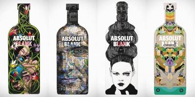 Printurile din campania ABSOLUT Blank 2011