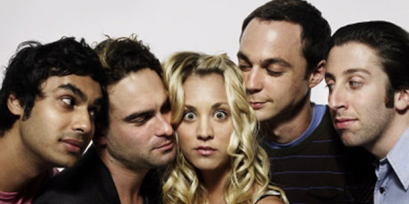 """Tocilarii din """"The Big Bang Theory"""" in primele 5 sezoane"""