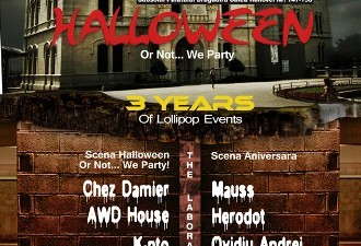The Laboratory - Halloween or not... we party