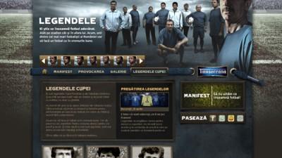 Timisoreana - Fotbal adevarat Homepage