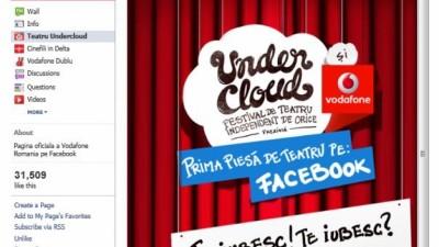 Undercloud - Prima piesa de teatru jucata pe Facebook, 1