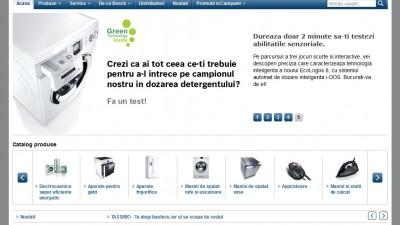 Website: Bosch Electrocasnice Romania - bosch-home.ro