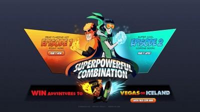 Website: Doritos & Pepsi - Superpowerful Duo