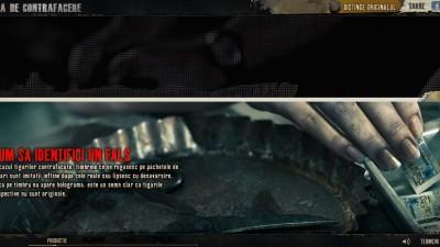 Website: Fabricadecontrafacere.ro - Cum sa identifici un fals