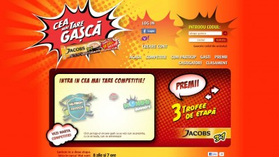 Website: Jacobs 3in1 - Cea mai tare gasca