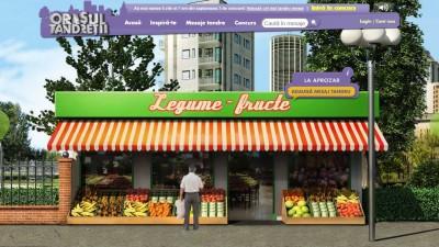 Website: Milka – Orasul Tandretii (Aprozar)