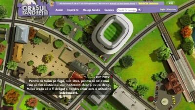 Website: Milka – Orasul Tandretii (Intro)