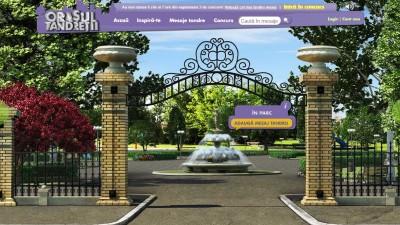 Website: Milka – Orasul Tandretii (Parc)