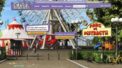 Website: Milka – Orasul Tandretii (Parc de distractii)