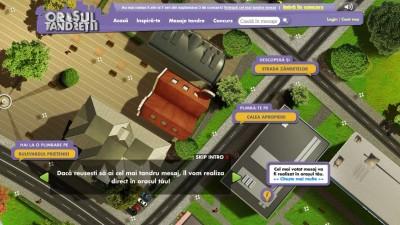 Website: Milka – Orasul Tandretii (Strazi)