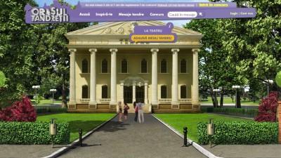 Website: Milka – Orasul Tandretii (Teatru)
