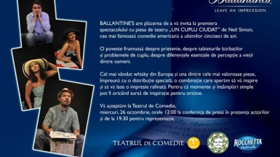 Ballantine's - Un cuplu ciudat (flyer)