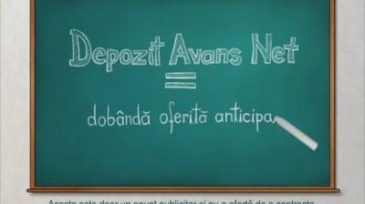 Banca Romaneasca - Depozit Avans Net
