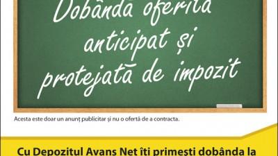 Banca Romaneasca - Dobanda oferita anticipat