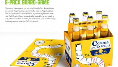 Corona Beer - 6-Pack Boardgame