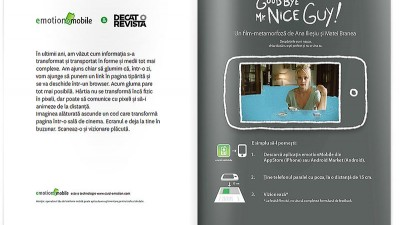 DoR - Emotion Mobile App - Reclama in Decat o Revista