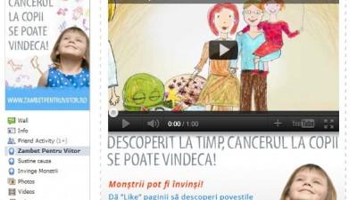 Facebook: Danone - Zambet pentru Viitor, Invinge monstrii