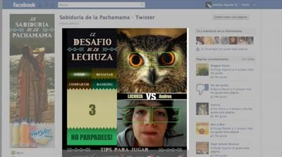 Facebook: Tropicana Twister - Challenge the owl