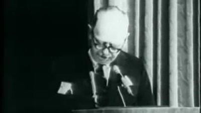 "Leo Burnett - ""When to take my name off the door"" Speech"