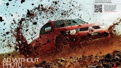 Mitsubishi - Triton L200 no Photoshop campaign