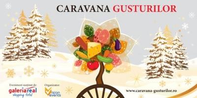 """Vision Events pregateste seria de evenimente """"Caravana Gusturilor"""" in cadrul zonelor de shopping din Galeria Real"""