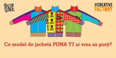 Cele 201 lucrari finaliste din competitia PUMA T7 The Creative Factory asteapta votul publicului