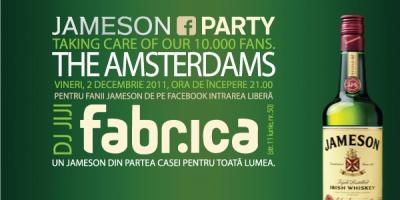 Jameson Romania ofera primilor 10.000 de fani un concert The Amsterdams