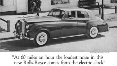Rolls Royce - Clock