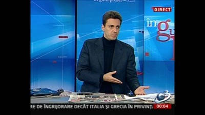 "ROM – Romaniisuntdestepti.ro – in cadrul emisiunii ""In gura presei"" cu Mircea Badea"