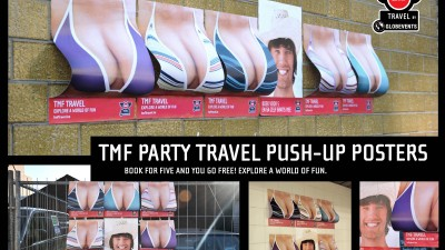 TMF Travel - Push-up posters