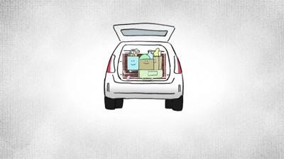 Toyota - A Garage Sale Armoire