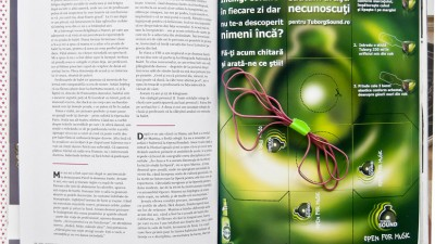 Tuborg Sound - DIY - Reclama in Decat o Revista