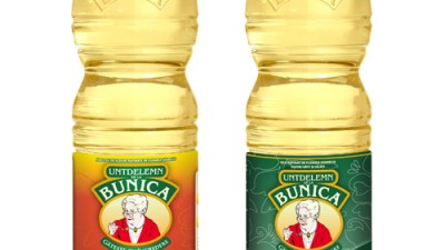 Untdelemn Bunica - Packaging
