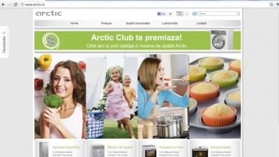 Website: arctic.ro - Homepage