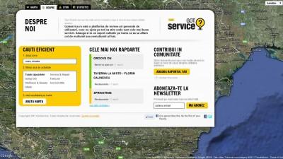 Website: Distinct - Gotservice.ro