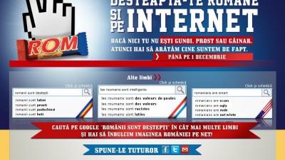 Website: Rom - Romanii sunt destepti
