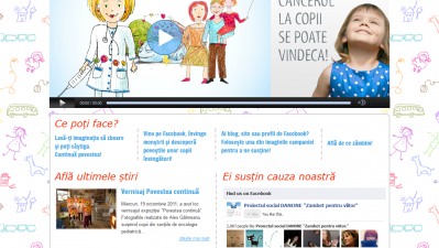 Website: zambetpentrucopii.ro - Homepage